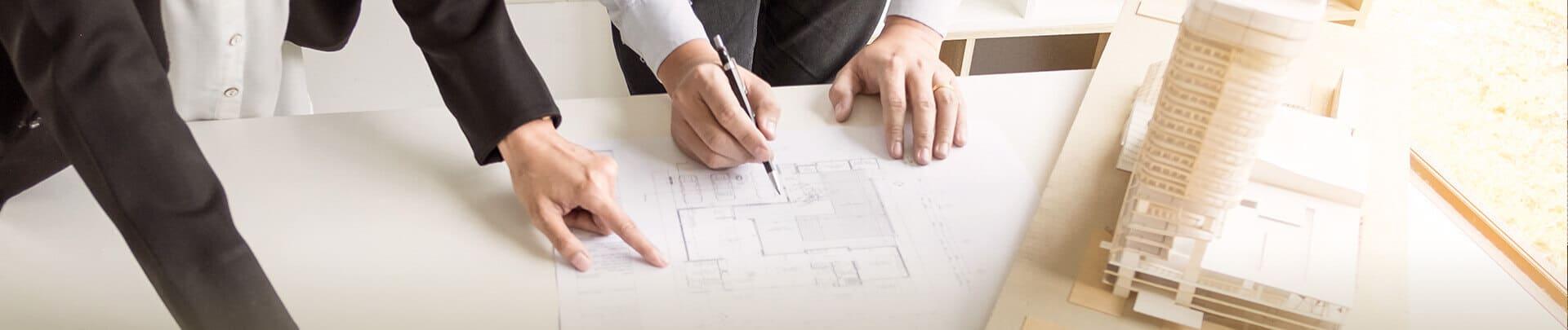 Aufteilung für Mehrfamilienhausverkauf